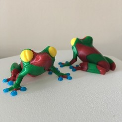 Download free 3D print files TreeFrog 4 Colours for multi-material printing, helisud