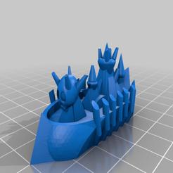 Floating-necropolis_V1.png Télécharger fichier STL gratuit Flotte de fantaisie • Plan à imprimer en 3D, TOTOleHero
