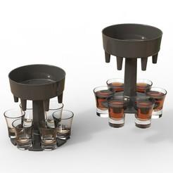 untitled.8-1.jpg Download STL file Drink refill dispenser • Object to 3D print, kamran_vvv