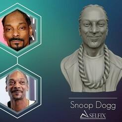 01.jpg Télécharger fichier OBJ Snoop Dogg sculpture 3D Prêt à être imprimé en 3D • Modèle pour impression 3D, selfix