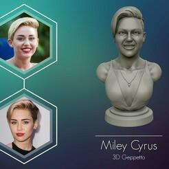 01.jpg Télécharger fichier OBJ Miley Cyrus : modèle de sculpture imprimable en 3D • Plan pour impression 3D, selfix