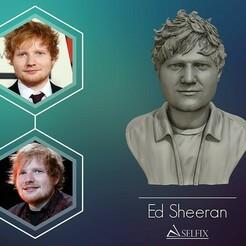 01.jpg Download OBJ file Ed Sheeran sculpture ready to 3D print • 3D printer design, selfix