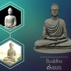 01.jpg Download OBJ file Buddha 3D sculpture 3D print model • 3D printing design, selfix