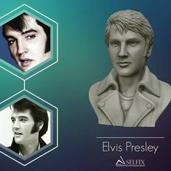 01.jpg Download OBJ file Elvis Presley sculpture Ready to Print 3D print model • 3D printable design, selfix
