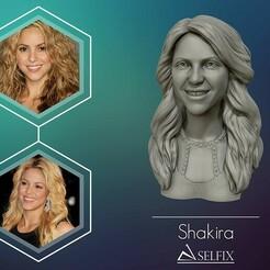 01.jpg Télécharger fichier OBJ Sculpture modèle Shakira 3d • Objet pour imprimante 3D, selfix