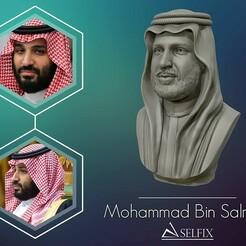 01.jpg Télécharger fichier OBJ Modèle de sculpture de portrait de Mohammad Bin Salman • Objet pour impression 3D, selfix