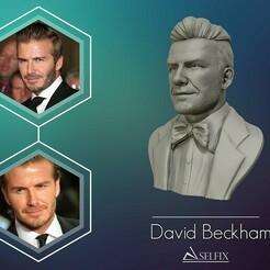 01.jpg Download OBJ file David Beckham 3D Sculpture 3D print model • Template to 3D print, selfix