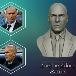 01.jpg Télécharger fichier OBJ Zinedine Zidane, modèle de sculpture en 3D • Modèle à imprimer en 3D, selfix