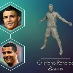 01.jpg Télécharger fichier OBJ Christiano Ronaldo célébration juventus kit 2019 modèle d'impression 3D • Plan pour impression 3D, selfix