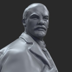 Download STL Vladimir Lenin 3d, bormuh