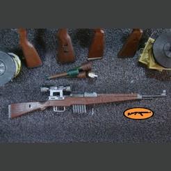 Télécharger fichier STL Gewehr 43 • Plan pour imprimante 3D, MtkStuka