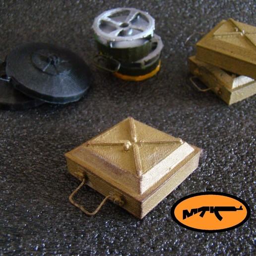 Télécharger fichier STL gratuit TM - 35 mine antichar soviétique • Objet imprimable en 3D, MtkStuka