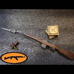 Télécharger fichier STL TOKAREV SVT 40 (Самозарядная винтовка Токарева 40) • Objet pour impression 3D, MtkStuka
