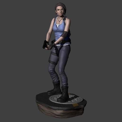Jill Valentine Resident Evil 3 Remake With 2 Bases