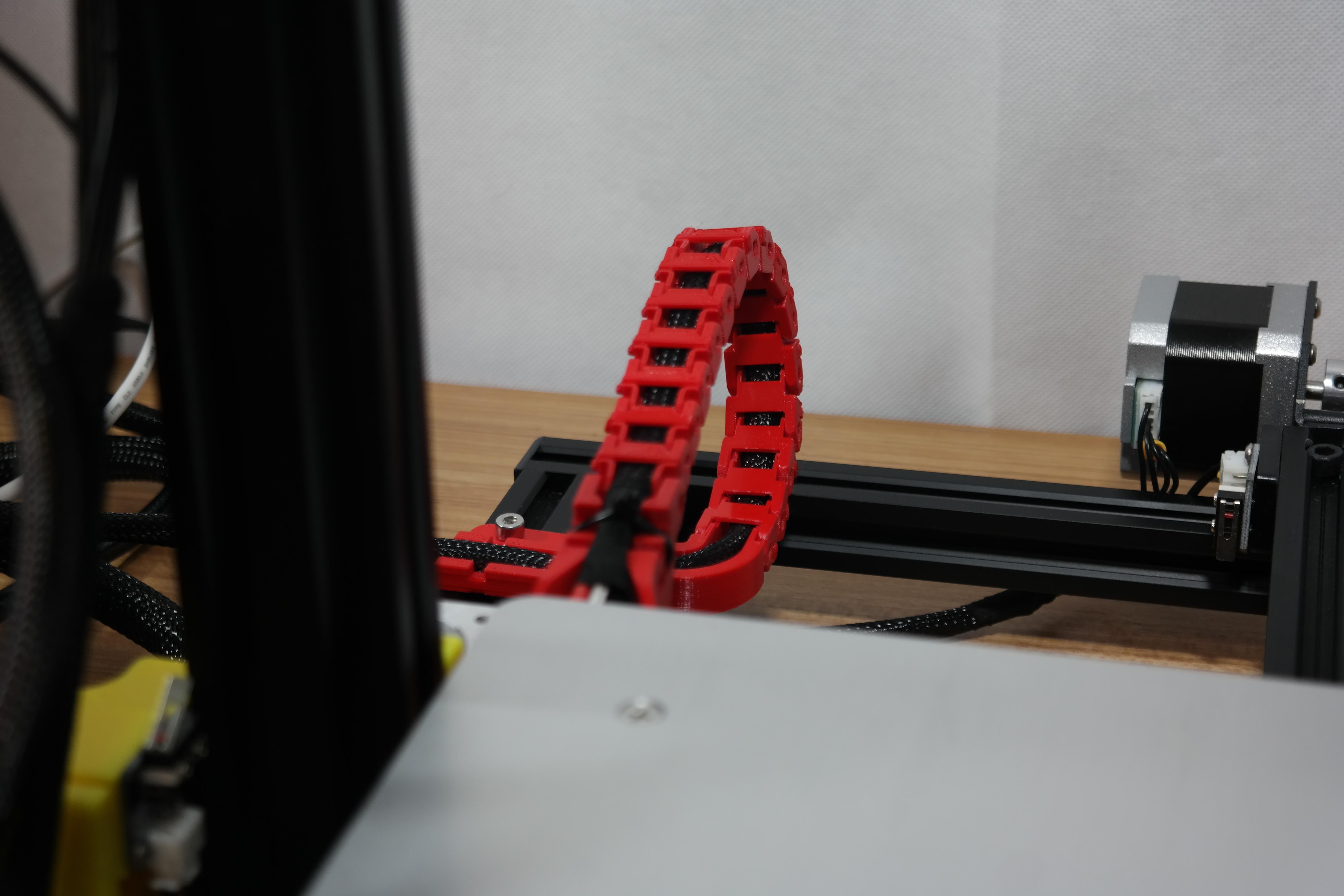 SAM_3578.JPG Télécharger fichier STL gratuit Creality CR-10S Chaîne d'entraînement de câble de l'axe Y et décharge de traction • Design à imprimer en 3D, ZepTo