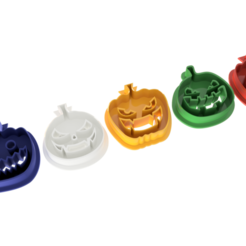 Download free 3D printer designs Halloween various Lantern Cookie Cutter, ZepTo