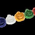 Download free 3D printer designs Halloween various Lantern Cookie Cutter, ZepTo