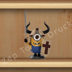Download 3D print files Minion Warrior, ZepTo