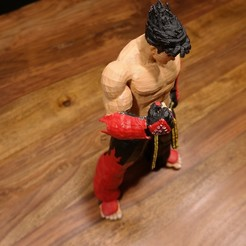 Download free 3D print files Jin Kazama Tekken, ZepTo