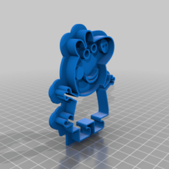 Peppa_Wutz.png Télécharger fichier STL gratuit Peppa Pig Cookie Cutter Peppa Wutz Ausstechform • Plan à imprimer en 3D, ZepTo
