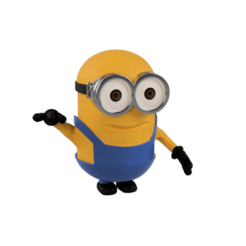pic6.png Download STL file Minion • 3D printable object, ZepTo