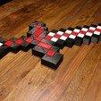 Télécharger fichier 3D gratuit Épée Minecraft XXL, ZepTo