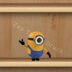 Download 3D printing models Minion Peace, ZepTo