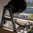 Télécharger modèle 3D gratuit porte-bobine de filament reprap allemand x400, ZepTo