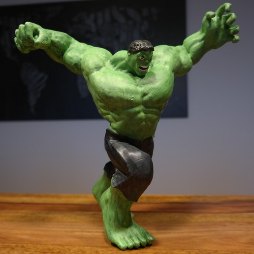 Télécharger plan imprimante 3D gatuit Hulk, ZepTo
