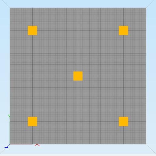 Télécharger objet 3D gratuit Creality CR-10S Objet de nivellement de lit, ZepTo