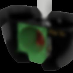 Télécharger fichier imprimante 3D gratuit Creality CR-10S double refroidisseur de 40mm et ventilateur de 40mm pour le Hot-End du stock, ZepTo