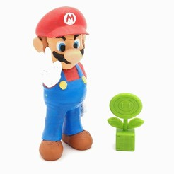 Download free 3D printing files Fire Flower Super Mario, ZepTo