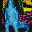 Imprimir en 3D ¡Godzilla! Sin apoyos!, heidihopwood