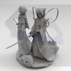 Download 3D printer designs Rukia Diorama, MKCreative