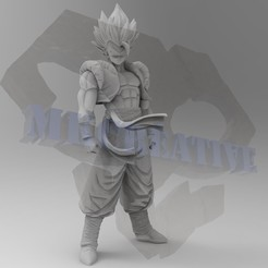 Gogeta.jpg Download STL file Gogeta • Object to 3D print, MKCreative