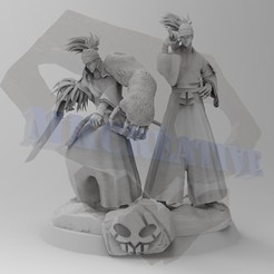 Download STL file Renji Diorama, MKCreative