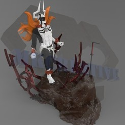 Télécharger fichier imprimante 3D Ichigo Hollow Vaste Lorde, MKCreative
