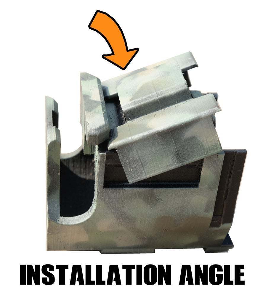 HDR50_INSTALL.jpg Download free STL file Umarex T4E HDR 50 mag Pouch - molle • 3D print model, UntangleART