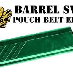 Télécharger modèle 3D gratuit paintball barrel swab swab molle case pouch holder, UntangleART