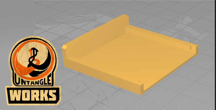 Selection_004.png Download free STL file Panasonic vw-vbn260 battery pack cover • 3D printable template, UntangleART