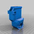 TIP_C_MA_DOWN_ABD.png Download free STL file TIPX to cyclone Magazine Adapter down ABD • Design to 3D print, UntangleART