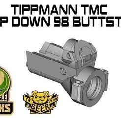 Descargar archivos 3D gratis Tippmann TMC adaptador para el trasero 98, UntangleART