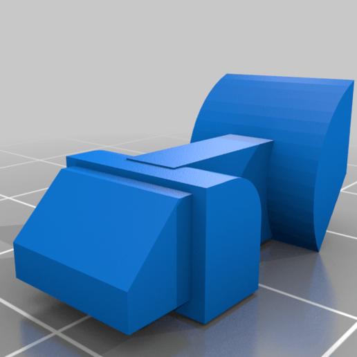 DMAG_MAGWELL_T_L_PARTX_v5.png Download free STL file TIPX HI CAP DMAG/HELIX EDITION • 3D print model, UntangleART
