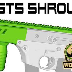 Download free STL files HSTS Shroud, UntangleART