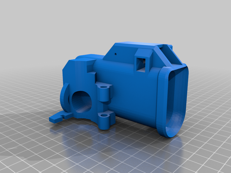 TIPX_MAGWELL_TIP_WELL_down.png Download free STL file Tippmann TiPX to tippmann 98 Mag Adapter down • 3D printable template, UntangleART