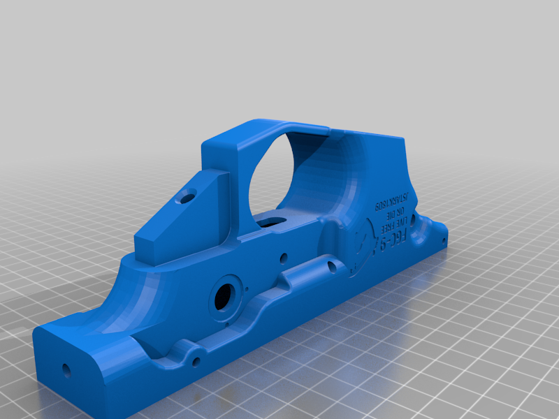 Lowe_reciever_logo_restyle.png Download free 3MF file FGC-9 Lower receiver Goliad logo restyle • 3D print design, UntangleART