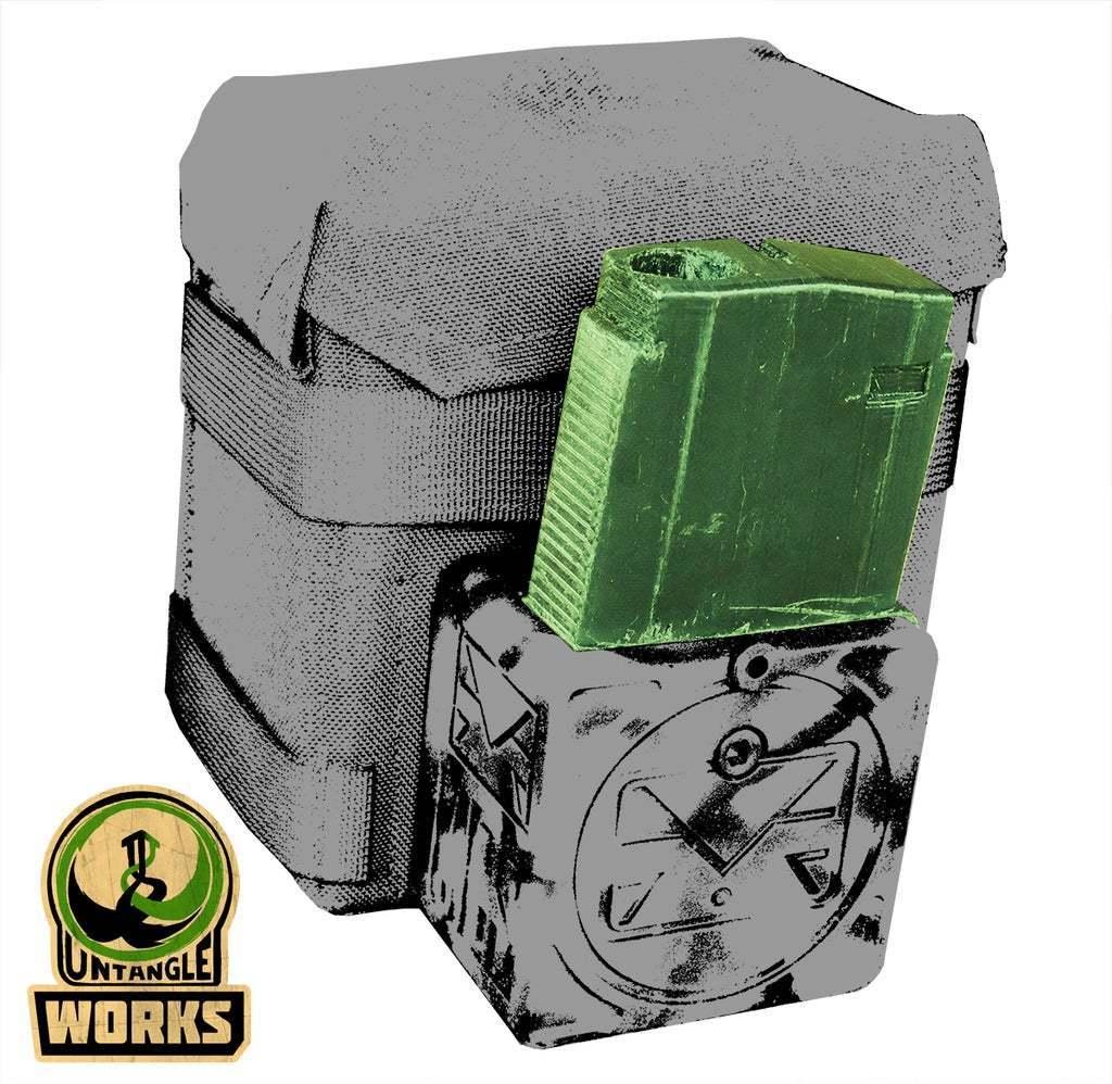 BOXDRIVE_b.jpg Télécharger fichier STL gratuit MCS Box Drive DMAG/HELIX Magazine Tower • Design pour imprimante 3D, UntangleART