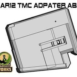 SAR12_TMC_ABD.jpg Download free STL file SAR12 TMC MAG adapter ADB • Template to 3D print, UntangleART