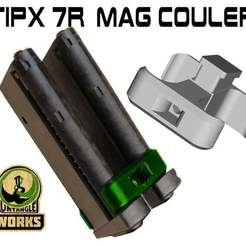 TIPX_MAg_7_coupler_.jpg Download free STL file Tipx 7round mag coupler • 3D print object, UntangleART