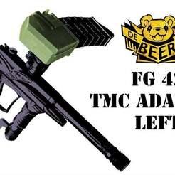 TMC_A_LEFT_a.jpg Download free STL file Tippmann TMC Universal Magazine Adapter LEFT • 3D printer object, UntangleART